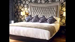 DIY Wallpaper bedroom design decorating ideas