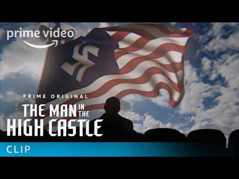 The Man in the High Castle S2 Hitler Munich Beer Garden | Prime Video