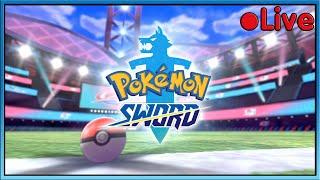 Pokemon Sword - Battle With Squid! - • Live