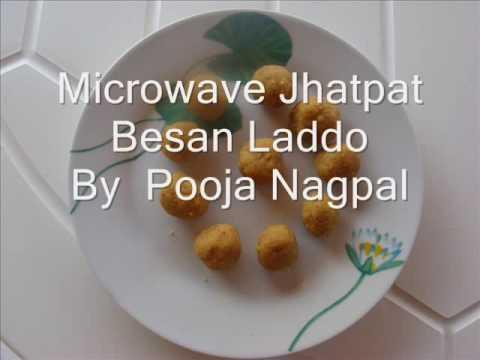 Jhatpat Microwave Besan Laddoo