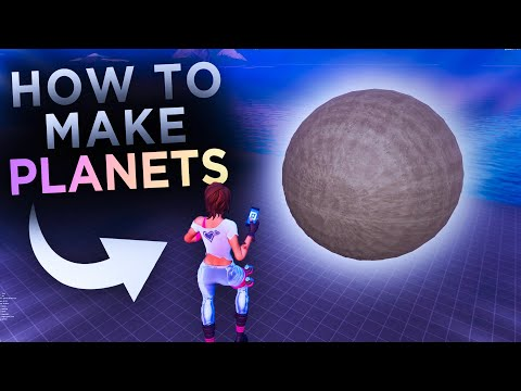 How To Make *PLANETS* In Fortnite! (Loyal's Sphere Technique)