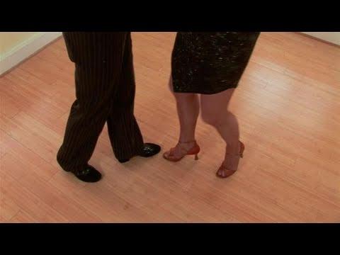 Сальса: техника переднего шага. Видео урок.