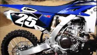 6. The New 2012 Yamaha YZ250F And YZ450F 2012