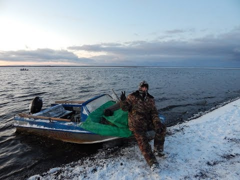 Рыбалка ОМУЛЬ завершение сезона..