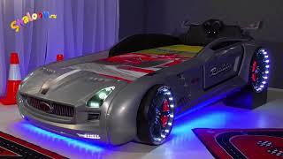Видео: кровать машина Родстер