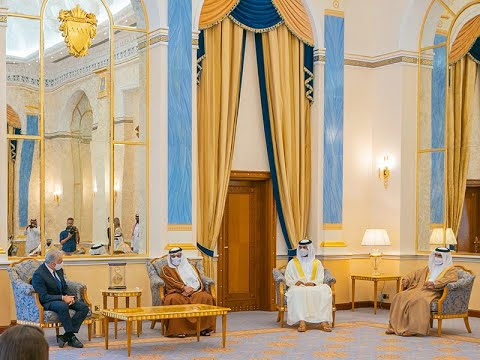 HRH the Crown Prince and Prime Minister meets the State of Israel