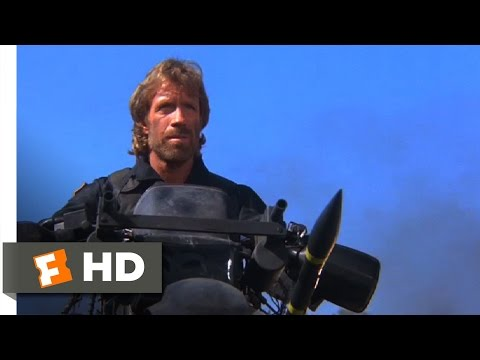 The Delta Force (1986) - One Man, One Motorcycle Scene (8/12) | Movieclips