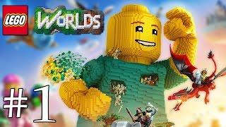 Gameplay / Let's Play sur LEGO Worlds PS4 en francais (FR)! Abonne toi ici...