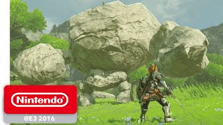 The Legend of Zelda: Breath of the Wild Official Trailer | E3 2016