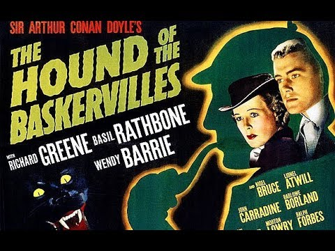 Sherlock Holmes, The Hound Of The Baskervilles, Basil Rathbone, Nigel Bruce, 1939 Full Film