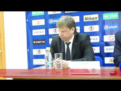 Автомобилист 1-3 Слован, Пресс конференция