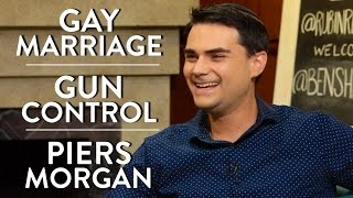 Video Ben Shapiro on Gay Marriage, Gun Control, and Piers Morgan MP3, 3GP, MP4, WEBM, AVI, FLV Desember 2018