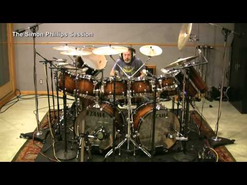 The Simon Phillips Session - Drums Example