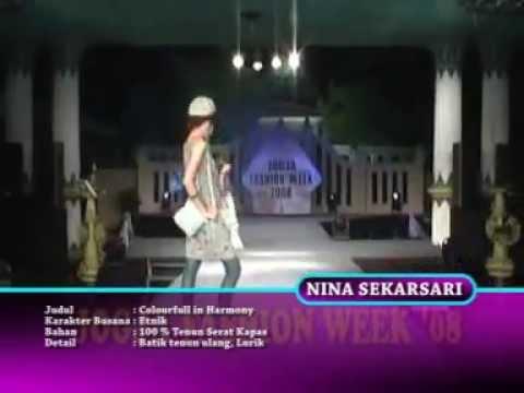 milan fashion silate - Rumah Kapas Jogja @ Jogja Fashion Week 2008.
