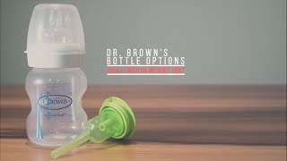 Dr. Brown's Bottle : Use It With or Without Vent
