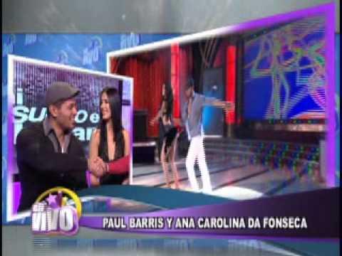 """Ana Carolina Da Fonseca de Mi sueno es bailar en los estudios de """"En Vivo"""" - Thumbnail"""