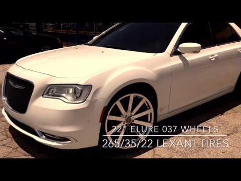 2016 Chrysler 300 sitting on 22