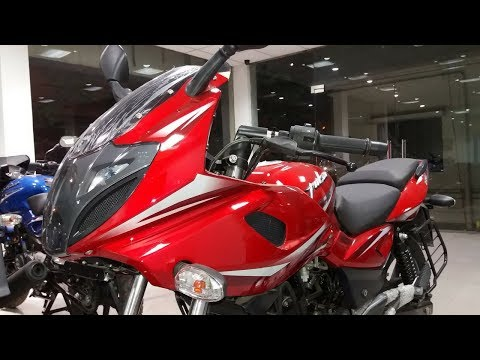 Video 2018 Bajaj Pulsar 220F BS4 Dyno Red Walkaround Review | Exhaust, New Features download in MP3, 3GP, MP4, WEBM, AVI, FLV January 2017