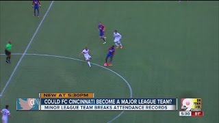 With wile league success and record-breaking attendance, fans of Cincinnati's newest minor league professional sports team, FC Cincinnati, are wondering if ...