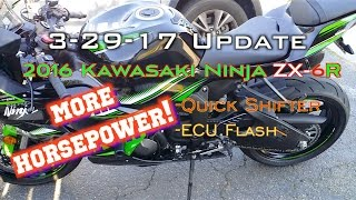 3. 2016 Kawasaki Ninja ZX-6R 636 More HORSEPOWER!!! Mods, ECU Flashed, Quick Shifter