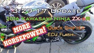 5. 2016 Kawasaki Ninja ZX-6R 636 More HORSEPOWER!!! Mods, ECU Flashed, Quick Shifter