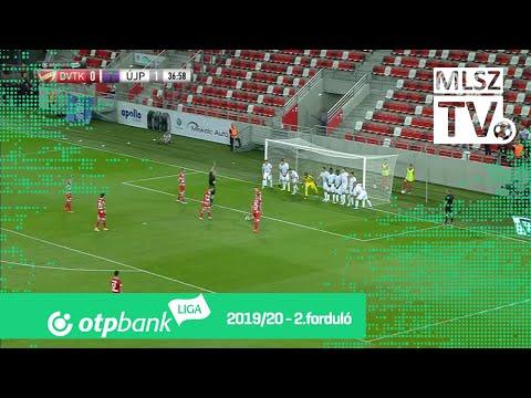2. forduló: DVTK - Újpest 1-2 (1-1)