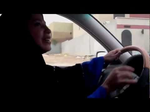 Driving in Saudi with @saudiwoman