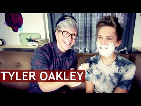 Exclusive Interview - Exclusive interview with YouTube star Tyler Oakley. - Subscribe to Tyler: http://youtube.com/tyleroakley - Watch the BLOOPERS: http://youtu.be/MGYH9vEnVbM --...