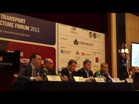 Директор ЦТС Сергей Вовк открывает транспортный форум - Центр транспортных стратегий