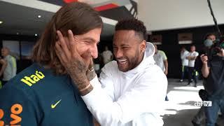 Copa América 2019: NEYMAR visita Seleção BRASILEIRA em São Paulo