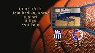 okk beograd kk sava 67 63 (juniori, 19 03 2018 ) košarkaški klub sava