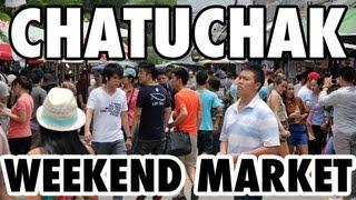 Chatuchak Market - Bangkok's Gigantic Weekend Market (ตลาดนัดจตุจักร)