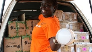 One million solar lights shining in Africa
