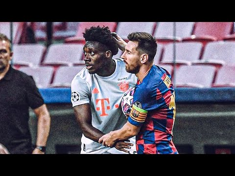 Why Lionel Messi refused to swap jerseys with Alphonso Davies | Oh My Goal