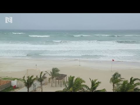 Video: Scenes from Salalah as tropical cyclone Mekunu approaches