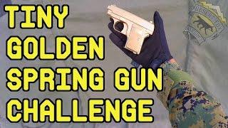 Nonton Tiny Golden Spring Airsoft Gun Challenge   Airsoft Pocket Pistol Film Subtitle Indonesia Streaming Movie Download