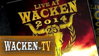 25 Years of Wacken DVD, Blu-Ray & Scrapbook - Trailer