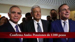 Pensiones de $1,200, confirma AMLO + Crónica Al Momento | La Crónica de Hoy