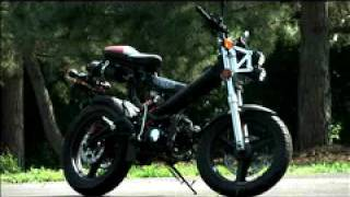 6. Sachs MadAss 50cc Motorcycle Demo