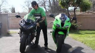 2. Kawasaki NINJA ZX6R Sportbike REVIEW (My personal review)