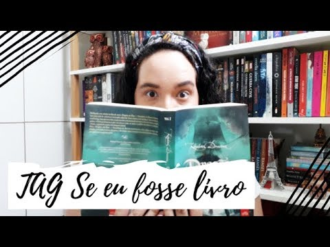 TAG Se eu fosse livro | VEDA #29 | Um Livro e Só