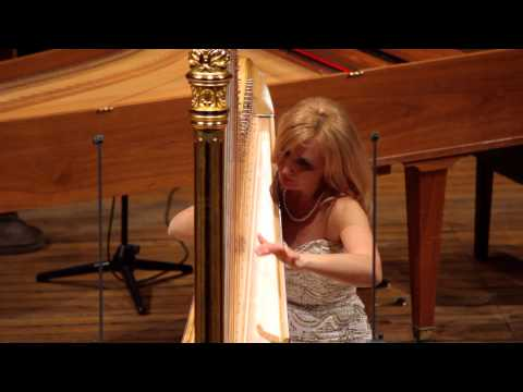 Jana Bouskova plays Danse sacrée et profane by Claude Debussy