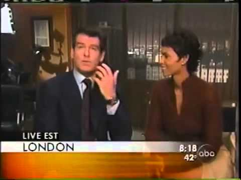"Good Morning America - Pierce Brosnan & Halle Berry ""Die Another Day"" 2002"