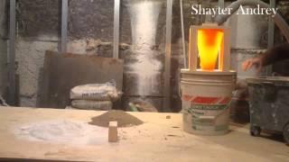 Циклонный фильтр и строительная пыль. Cyclone dust and construction. Шайтер Андрей