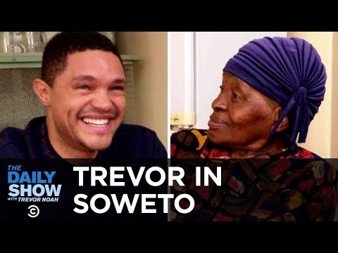 "Trevor Chats with His Grandma About Apartheid and Tours Her Home, ""MTV Cribs""-Style 