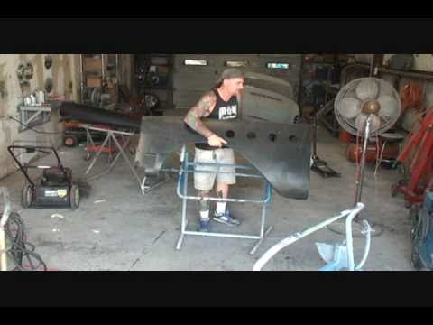 1955 Buick Century-DIY Automotive Restoration-Front Fender Repair. Part 1