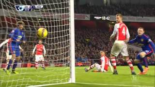 All Goals&Highlights Premier League Arsenal Vs Manchester United 1-2