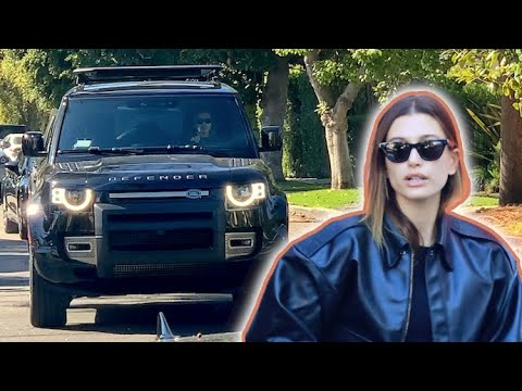 Hailey Baldwin Takes Her Swanky New Land Rover Defender For A Spin