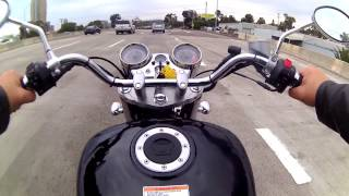 3. San Diego Coronado Bridge on brand new Hyosung GV250
