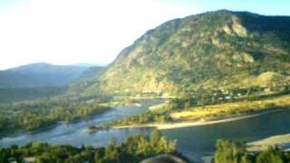 Castlegar (BC) Canada  City new picture : Castlegar (Selkirk College), BC. Evening flight.